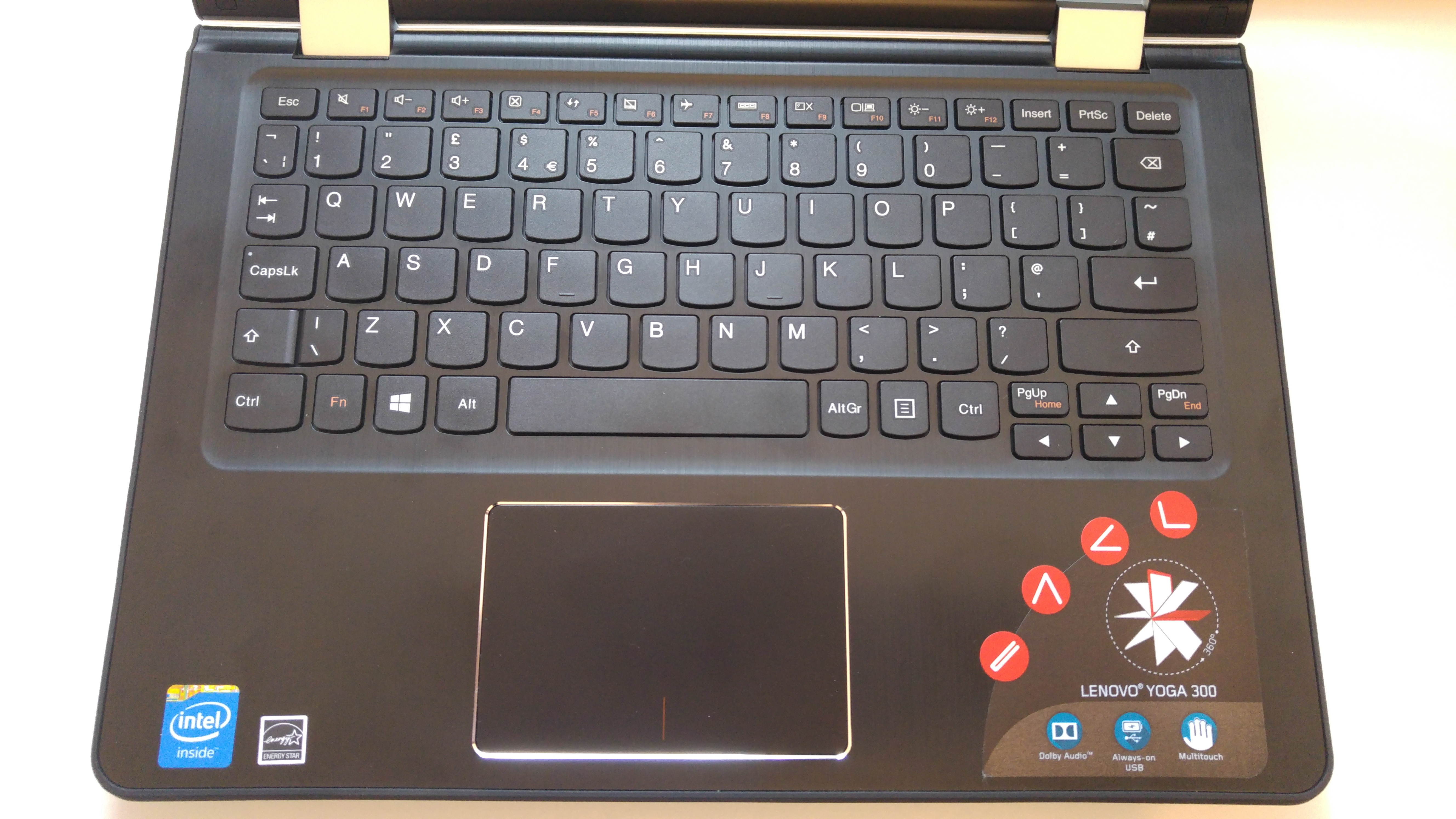 I bought a Lenovo Yoga 300, this is why I'm sending it back