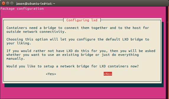 LXD, ZFS and bridged networking on Ubuntu 16 04 LTS+ | Jason Bayton