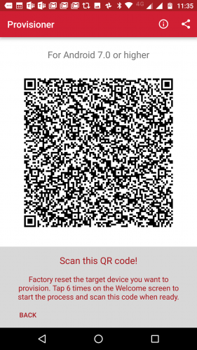 MobileIron officially supports Android Enterprise QR code
