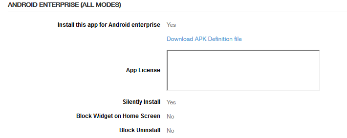 MobileIron launch Android Enterprise work profiles on fully
