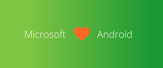 microsoft loves android