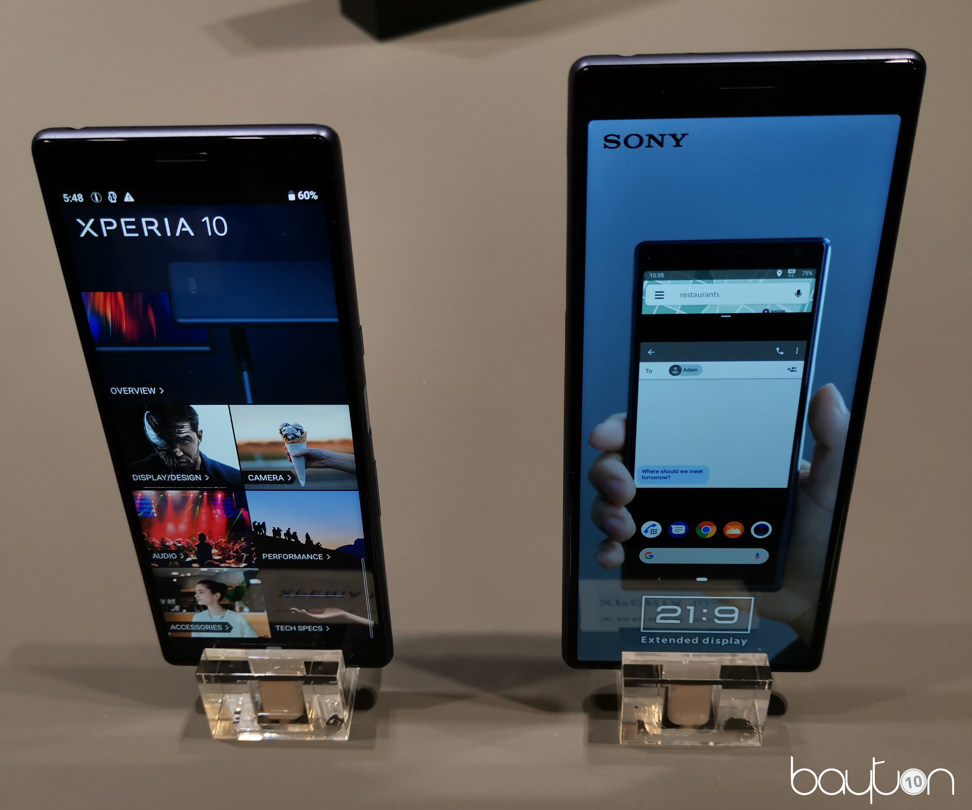 The Xperia 10 & 10 Plus